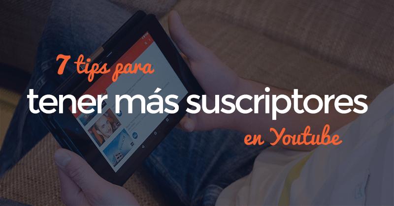 suscriptores, youtube, hablando digital