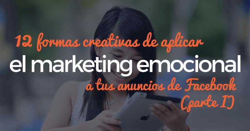 marketing emocional, facebook, consejos