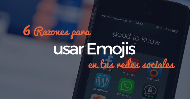 emojis, razones, redes sociales