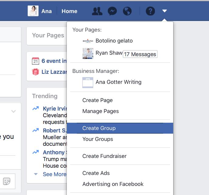 Grupo de Facebook