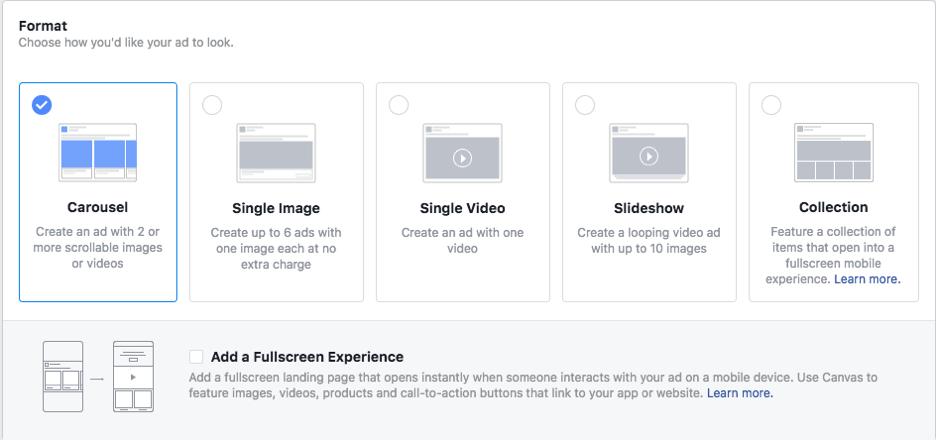 anuncio de bienes raices en facebook