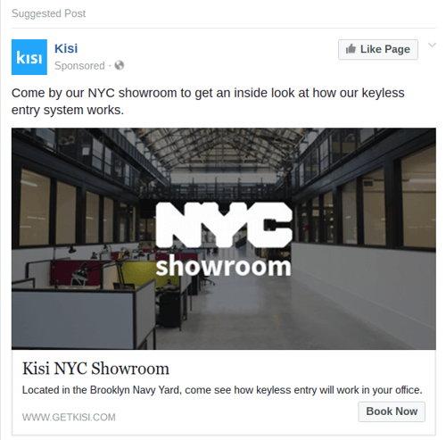 anuncio en facebook con ubicacion especifica