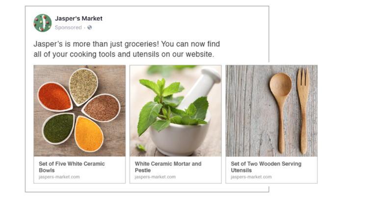 diseno de anuncios en facebook automatizados con plantillas dinamicas