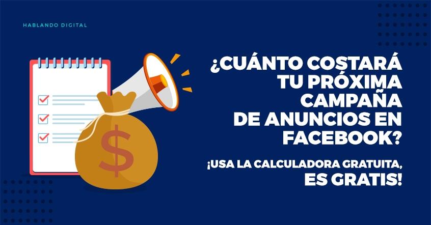 ¿Cuánto cuesta la publicidad en Facebook?
