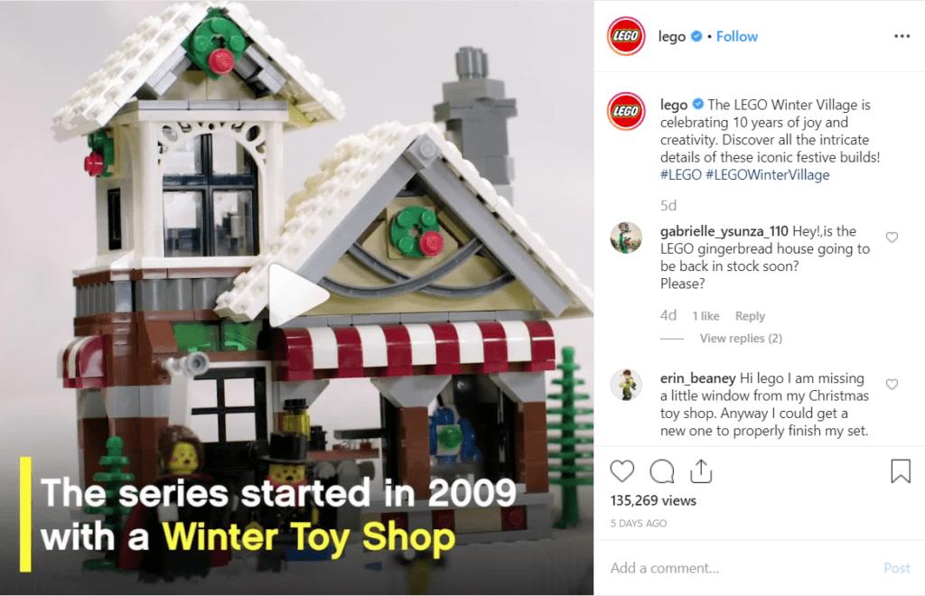 2. Cuenta una historia de tu marca. Lego
