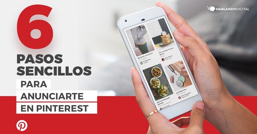 Seis pasos sencillos para anunciarte en Pinterest