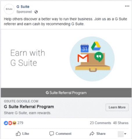 Anuncio en el Feed de Facebook