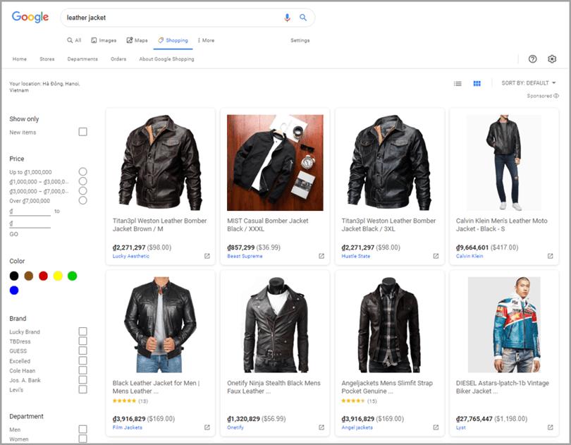 promocion de tienda en linea de dropshipping usando google