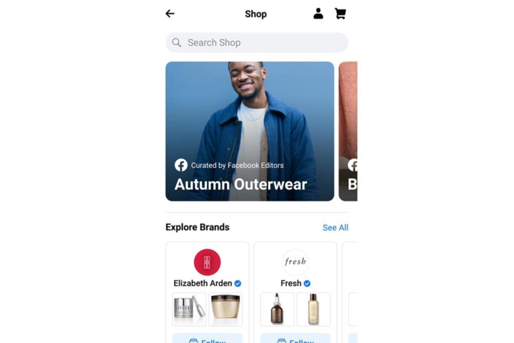 compras de Instagram y Facebook