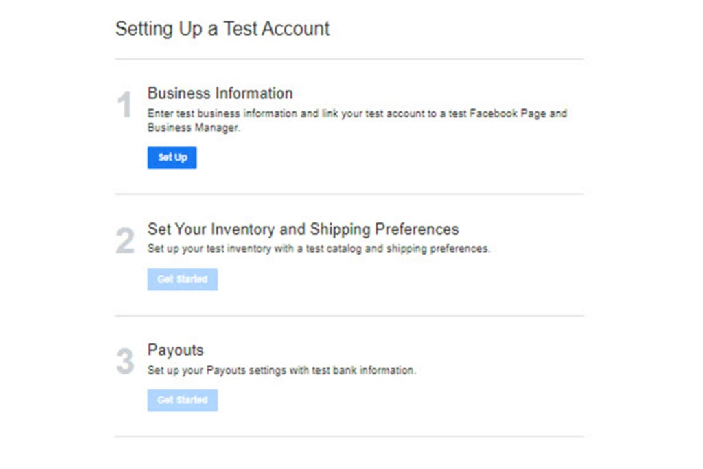 conectarás a tu cuenta de Administrador de Facebook