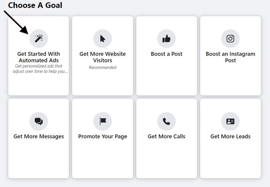 Crea los anuncios automatizados de Facebook