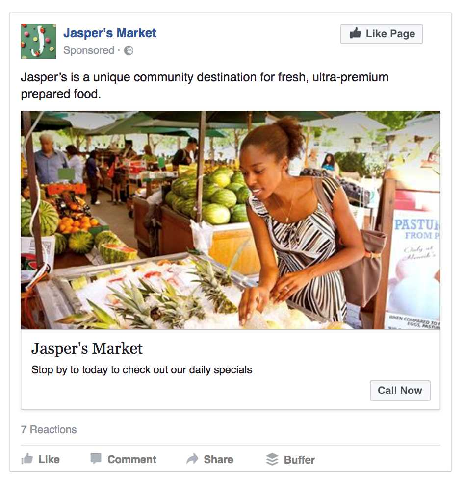 objetivos principales para anunciarte en Facebook